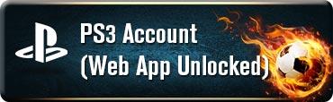 PS3 Account(Web App Unlocked)