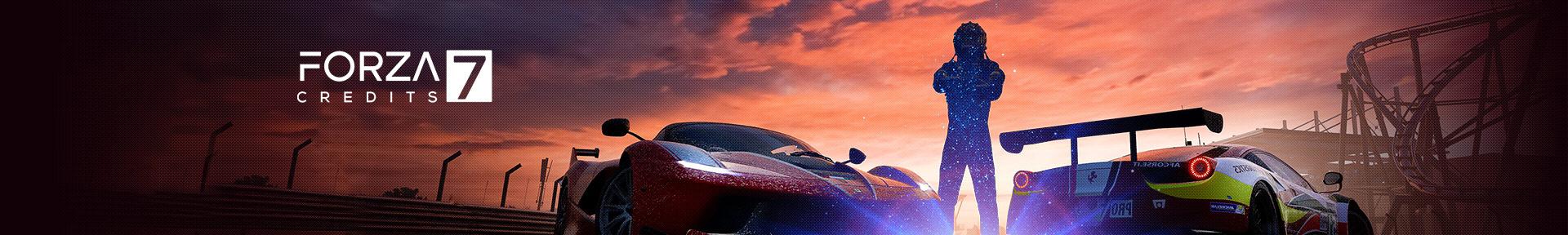 Forza Motorsport 7 Credits