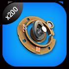 200x Rusty Mechanical Parts Tier 1