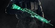 Emerald weapon skin