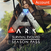 ARK: Survival Evolved+Season Pass Account
