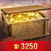Black goldville Nugget(3250 Gold)