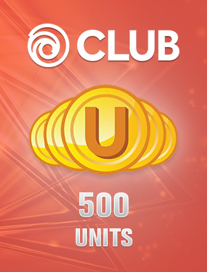 Ubisoft Club 500 Units