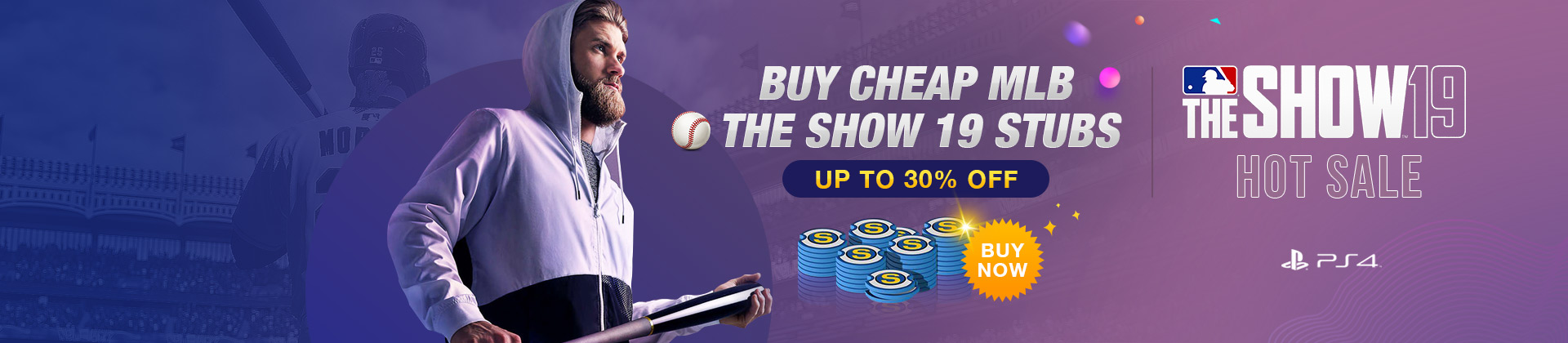 Cheap  MLB The Show 19 Stubs