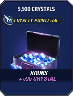 5500 Crystals