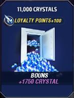 11000 Crystals