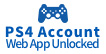 PS4 Account (Web App Unlocked)