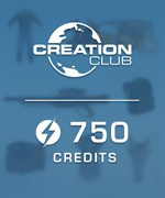 Skyrim Special Edition 750 Creation Club Credits
