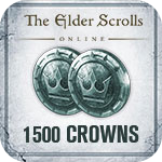 The Elder Scrolls Online 1500 Crown Pack