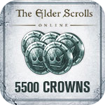 The Elder Scrolls Online 5500 Crown Pack