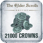 The Elder Scrolls Online 21000 Crown Pack