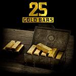 25 Gold Bars