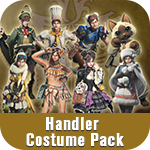 Monster Hunter: World - Handler Costume Pack