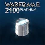 Warframe 2100 Platinum - 75%