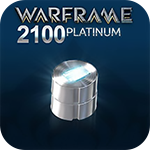 Warframe 2100 Platinum - 60%