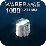 Warframe 1000 Platinum - 50%