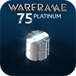 Warframe 75 Platinum - 40%