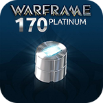 Warframe 170 Platinum - 30%