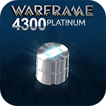 Warframe 4300 Platinum