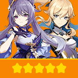 Keqing & Jeani | 2 Five-star Character + Random 4-star | not real-named, Can be Bound to Mobile Phones, Can Change Passwords, 100% Safe Guaranteed!