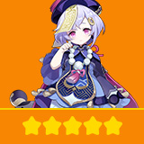 Qiqi | 1 Five-star Character + Random 4-star | not real-named, Can be Bound to Mobile Phones, Can Change Passwords, 100% Safe Guaranteed!