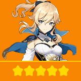 Jean | 1 Five-star Character + Random 4-star | not real-named, Can be Bound to Mobile Phones, Can Change Passwords, 100% Safe Guaranteed!