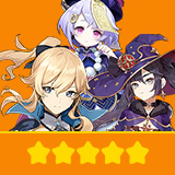 Jean & Mona & Qiqi | 3 Five-star Character + Random 4-star | not real-named, Can be Bound to Mobile Phones, Can Change Passwords, 100% Safe Guaranteed!
