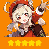 Klee | 1 Five-star Character + Random 4-star | not real-named, Can be Bound to Mobile Phones, Can Change Passwords, 100% Safe Guaranteed!