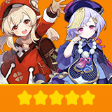 Klee & Qiqi | 2 Five-star Character + Random 4-star | not real-named, Can be Bound to Mobile Phones, Can Change Passwords, 100% Safe Guaranteed!