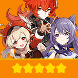 Klee+Keqing+Diluc| 3 Five-star Character + Random 4-star | not real-named, Can be Bound to Mobile Phones, Can Change Passwords, 100% Safe Guaranteed!