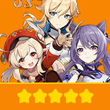 Klee+Keqing+Jean| 3 Five-star Character + Random 4-star | not real-named, Can be Bound to Mobile Phones, Can Change Passwords, 100% Safe Guaranteed!