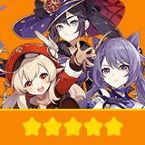 Klee+Keqing+Mona| 3 Five-star Character + Random 4-star | not real-named, Can be Bound to Mobile Phones, Can Change Passwords, 100% Safe Guaranteed!