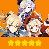 Klee+Jean+Qiqi| 3 Five-star Character + Random 4-star | not real-named, Can be Bound to Mobile Phones, Can Change Passwords, 100% Safe Guaranteed!
