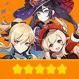 Klee+Jean+Mona| 3 Five-star Character + Random 4-star | not real-named, Can be Bound to Mobile Phones, Can Change Passwords, 100% Safe Guaranteed!
