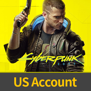 Cyberpunk 2077 US Accounts (Global - available), Log in to Steam, 100% Safe guarantee, not real-named, Can be Bound to Mobile Phones, Can Change Passwords.