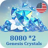 8080 *2 Genesis Crystals