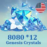 8080 *12 Genesis Crystals