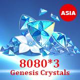 8080 *3 Genesis Crystals
