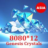 8080 *12Genesis Crystals