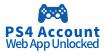 PS4 Account (Web App Unlocked)