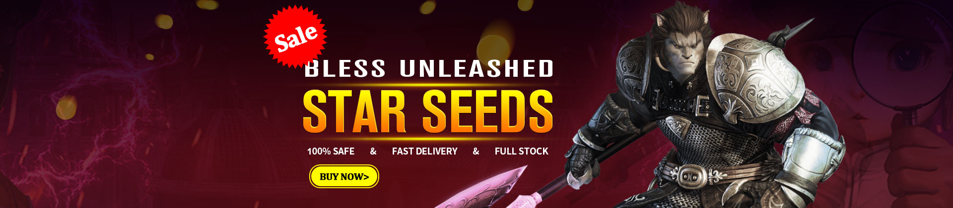 Buy Bless Unleashed Star Seeds