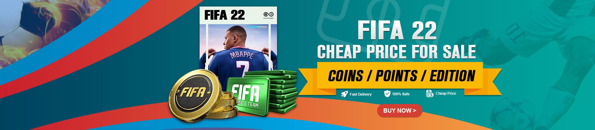 Cheap FIFA 22 Coins