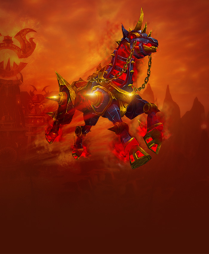 Buy Cheap WoW Warforged Nightmare Mounts, World of Warcraft