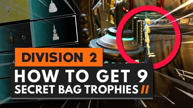 How To Get Every Backpack Keychain Trophy in The Division 2