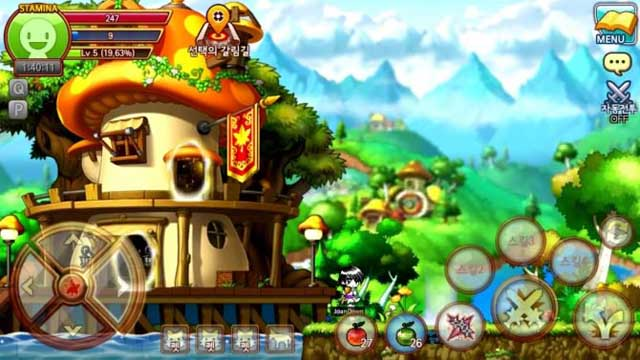 MapleStory M Review and Tips - How to Level Up Fast in