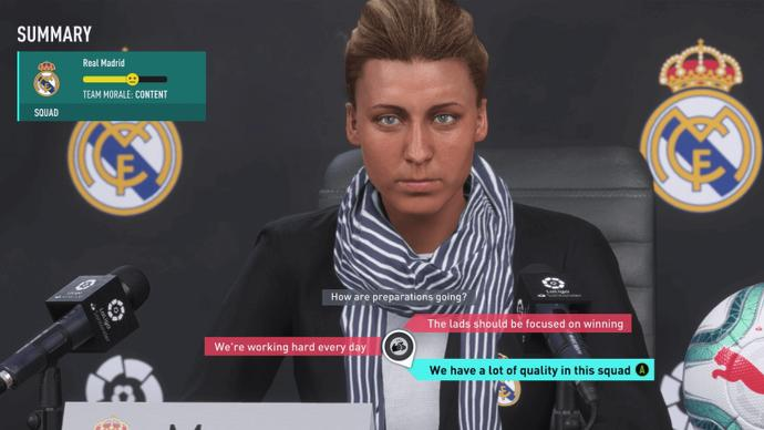 FIFA 20 introduces Female Managers for the first time