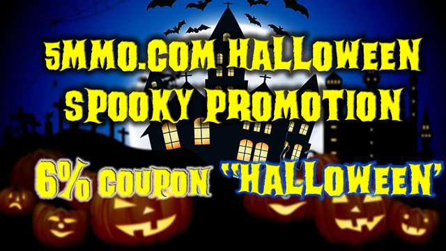 Halloween Promotion 5MMO