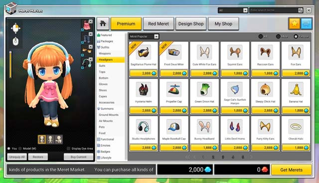 How To Obtain Blue Meret And Red Meret In MapleStory 2