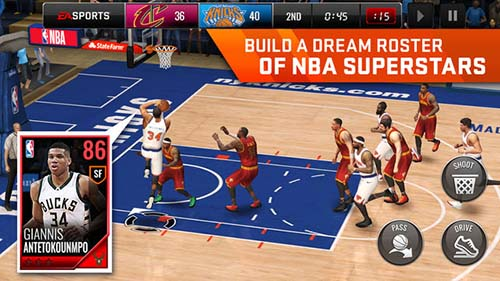 NBA Live Mobile Basketball Mobile Games