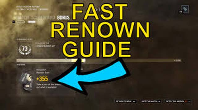 renown hack rainbow six siege ps4